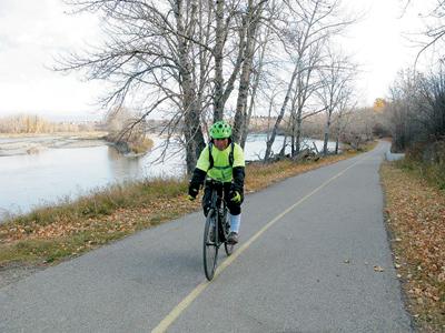 Yukio Kitagawa biking