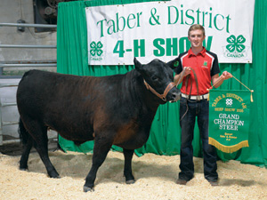 (Photo by Nikki Jamieson) STEER CHOICE