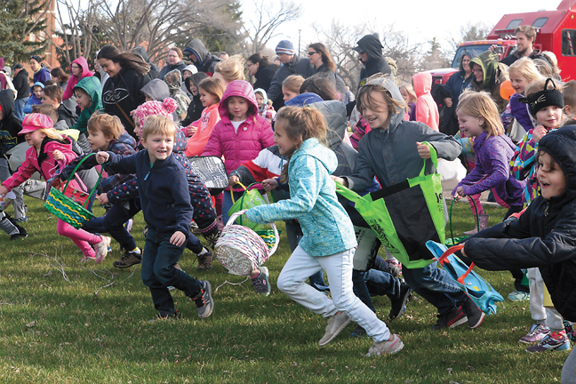 Fanning Springs Easter Egg Hunt and Ski Show